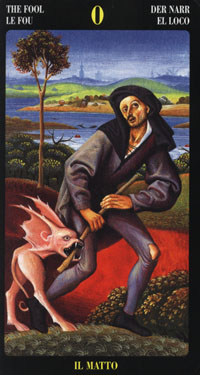 tarot o bohóc