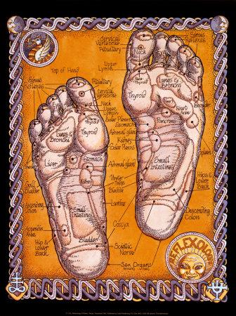 szemölcs a láb reflexológiáján