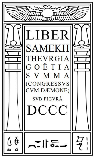 Thelemagick Library - Liber DCCC - Book 800
