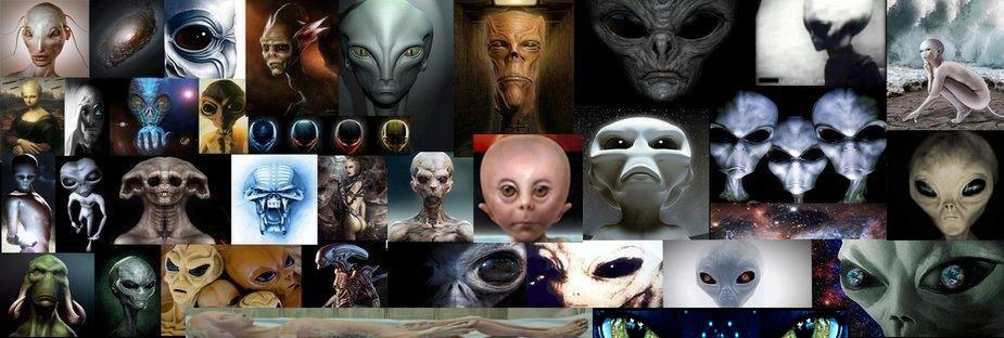KNOWN TYPES OF ALIENS AND ALIEN RACES