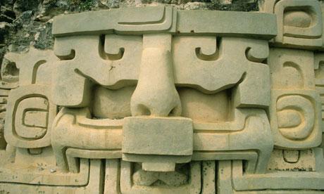 Maya Astronomical Frieze