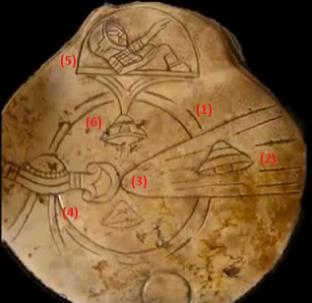 Maya UFO artefato