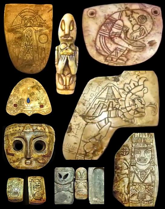 Artefatos México OVNIs