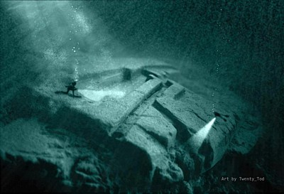 spacecraft found in ocean - photo #7