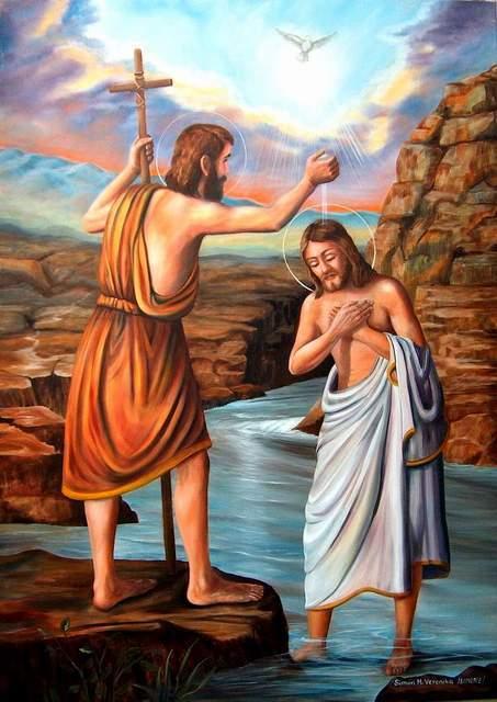 """Képtalálat a következőre: """"jézus megkeresztelkedése"""""""