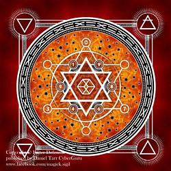 Daniel TARR - CYBERGURU - My ART - Magick Sigils & Mandalas