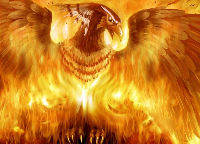 Phoenix Rising (by Unknown)